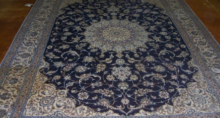 Oriental Rug Stain cleaning – Before
