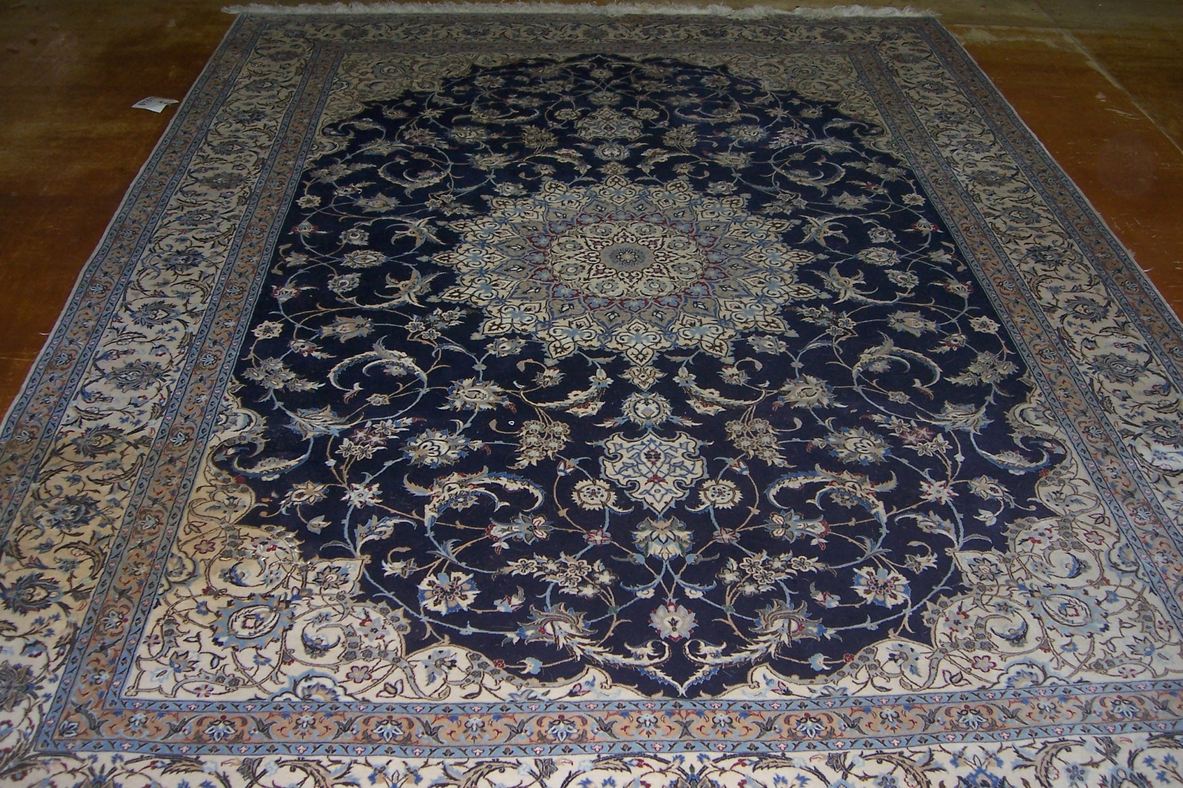 oriental rug stain removal before -