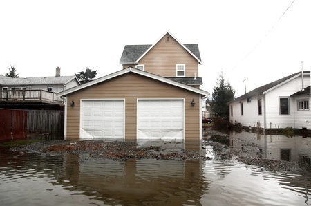 water damage house
